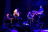 Ajda onstage — Stock Photo