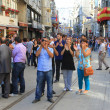 Demonstration at Istiklal Street — Stock Photo