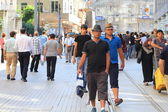 Istiklal Street, Istanbul — Stock Photo