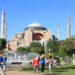 Stock Video: Hagia Sophia Visitors