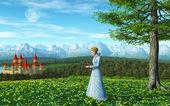 Fairy Tale Princess — Stock Photo
