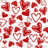 αγάπη φόντο με καρδιές — Φωτογραφία Αρχείου