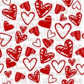 Fundo de amor com corações — Foto Stock