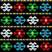 Background with ethnic texture — Stock Photo