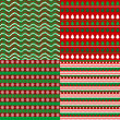Stock Photo: Set of Christmas backgrounds