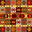 Etnic motifs background, carpet with folk ornaments — Stock Photo #18689881