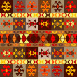 Etnic motifs background, carpet with folk ornaments — Stock Photo