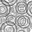 Royalty-Free Stock Photo: Abstract circles background seamless pattern