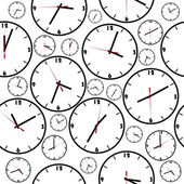 Background with simple clocks — Stock Photo