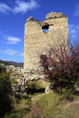 Image of Coltesti fortress tower, built in the 13th century in T — Stock Photo