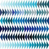 Blue tones triangles background — Stock Photo