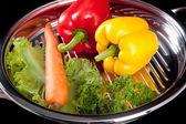 Steel Cookware — Zdjęcie stockowe