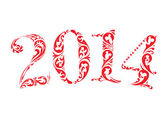New year 2014 — Stock Photo
