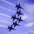 Blue Angels at Kaneohe Airshow - 图库照片