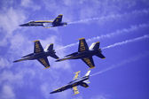 Blue Angels at Kaneohe Airshow — Stok fotoğraf