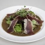 Seared ahi tuna salad — Stock Photo #45190637