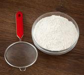 Sito do przesiewania mąki — Zdjęcie stockowe