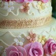 Cake for wedding celebration — Stock Photo