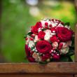 Beautiful bridal bouquet at wedding party — Stock Photo #36882971
