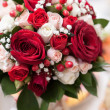 Beautiful bridal bouquet at wedding party — Stock Photo #36883251