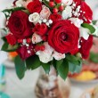 Beautiful bridal bouquet at wedding party — Stock Photo #36883337