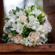 Beautiful bridal bouquet at wedding party — Stock Photo #36892227
