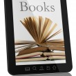 Books on Generic Tablet Computer - Digital Library Concept — Stock Photo #5936255