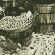 Olives in vintage look — Stock Photo