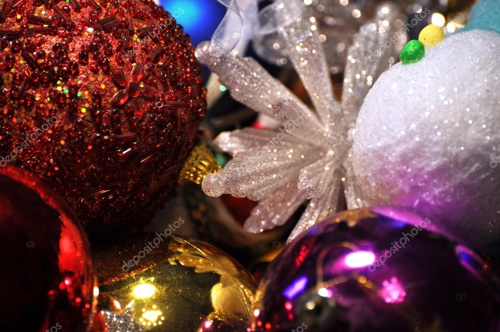 Christmas ball and decoration — Stock Photo #15202687