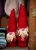 Knitted Santa Claus — Stock Photo