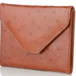 Brown Leather Purse — Stock Photo #12435721