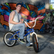 Rider on BMX — Stock Photo #12436502