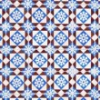 Seamless tile pattern — Video Stock