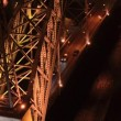 Stock Video: Dom Luis I bridge at night