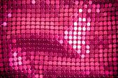 Paillette rosa brillante — Foto de Stock