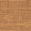 Zoom out closeup on sackcloth material — Stock Video