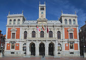 City Hall of Valladolid — Zdjęcie stockowe