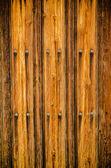 Weathered wooden door texture background — Stock Photo