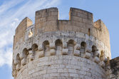 Stone tower of Penafiel Castle, Spain — Stock Photo