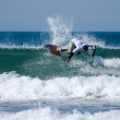 Surfer during the 4th stage of MEO Figueira Pro - Zdjęcie stockowe