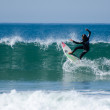 Surfer during the 4th stage of MEO Figueira Pro - Foto de Stock