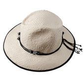 Büyük beyaz şapka — Stok fotoğraf