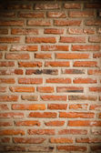 Orange brick wall — Stock Photo