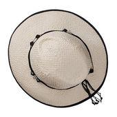 Grande cappello donna bianco — Foto Stock