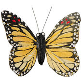 Artificial butterfly — Stock Photo