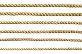 Seamless golden rope — Stock Photo