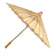 Oriental umbrella isolated — Stock Photo