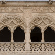 Detail of the Patio del Colegio de San Gregorio of Valladolid - Stock Photo