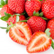 Stock Photo: Appetizing strawberries