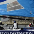 Wave - Muscat compete in Extreme Sailing Series — Stock Video #13977149